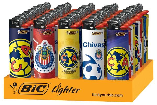 BIC LIGHTER REG. SE *LUCKY* #LCWT1LU