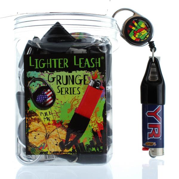 LIGHTER LEASH 30CT JAR *PREMIUM-GRUNGE*