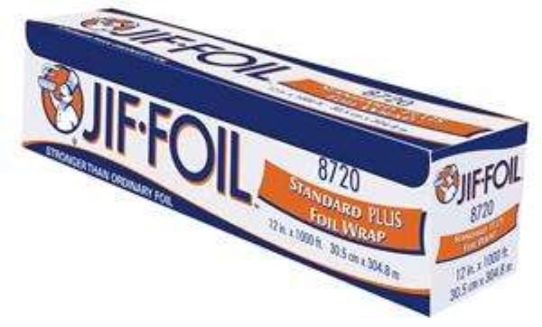 JIF-FOIL ALUMINUM FOIL ROLL 12