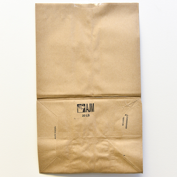 PAPER BAG BROWN #20 500/PK