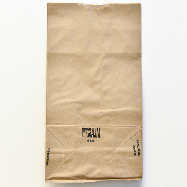 PAPER BAG BROWN #06 500/PK