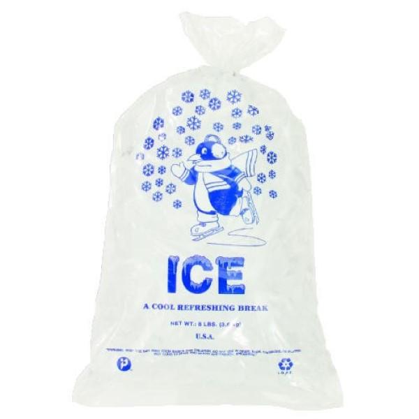 ICE BAG 08 LB 11X20 PRINTED 1000/BX #IC1120-TT