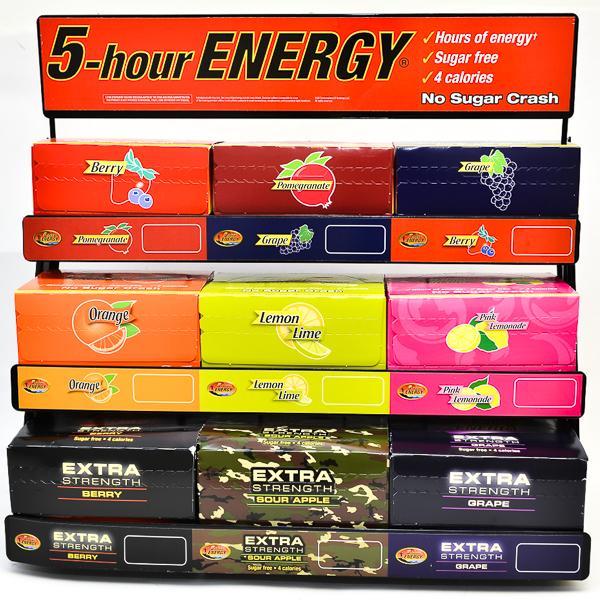 5 HOUR ENERGY 1.93FL.OZ ASST. DS 15BX 180CT