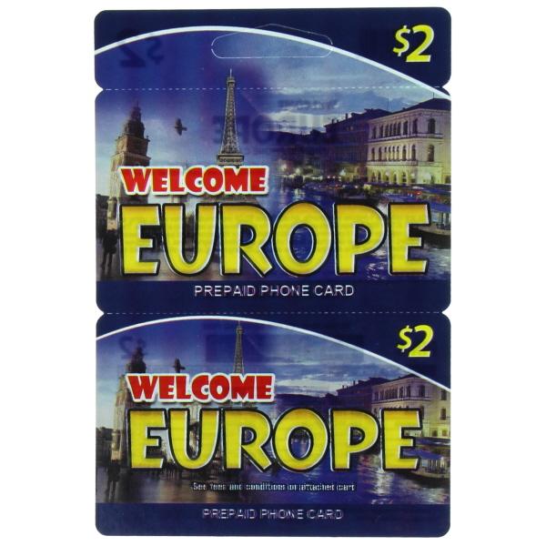WELCOME EUROPE $2