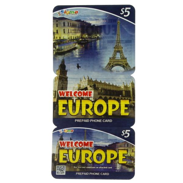 WELCOME EUROPE $5