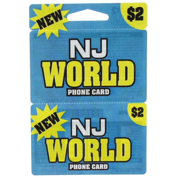 NJ WORLD $ 2