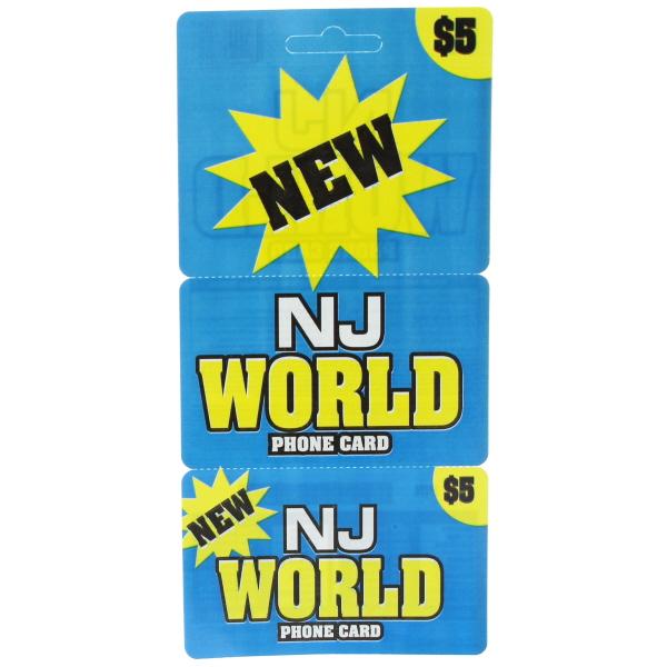 NJ WORLD $ 5