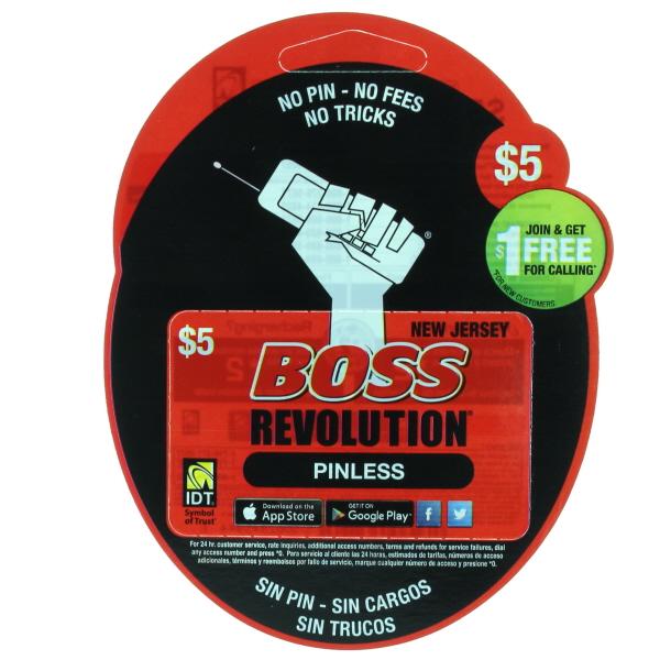BOSS REVOLUTION NJ $5