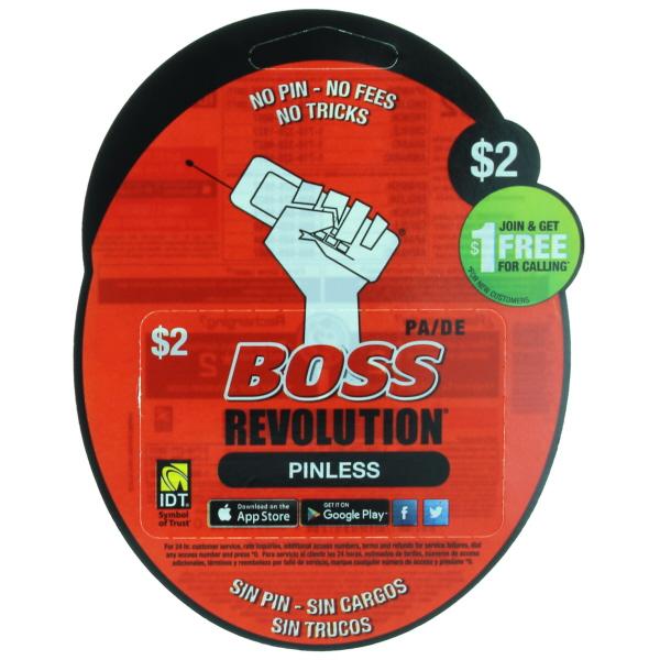 BOSS REVOLUTION PA/DE $2