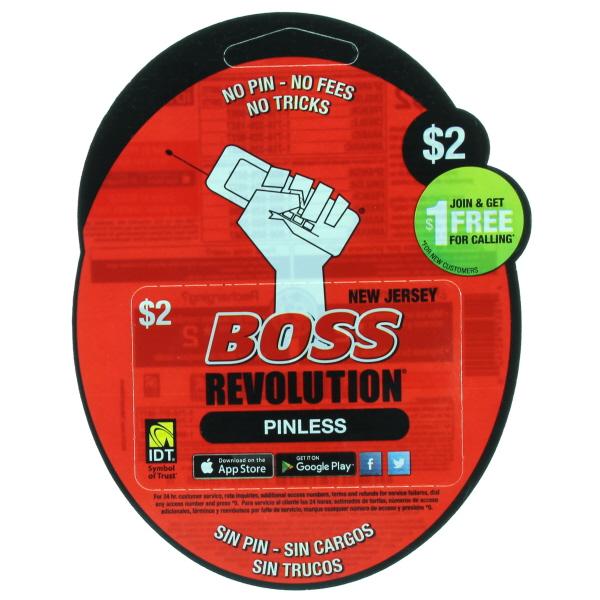 BOSS REVOLUTION NJ $2