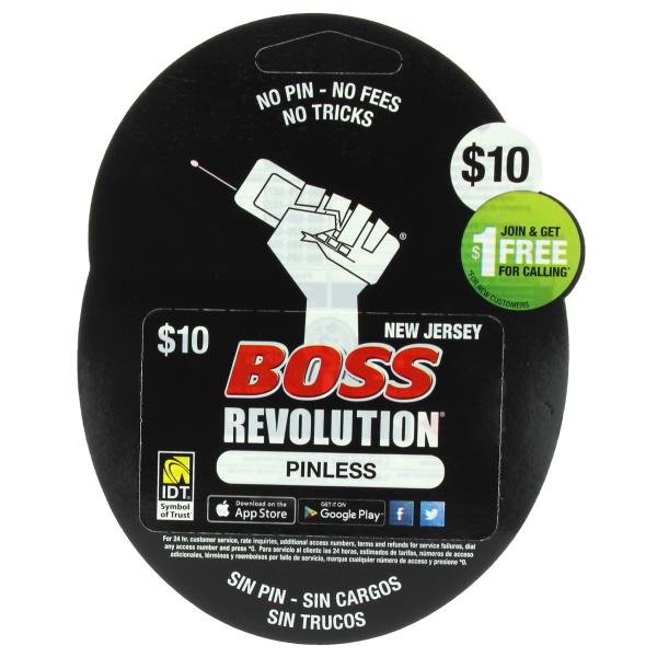 BOSS REVOLUTION NJ $10