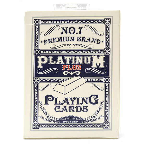 PLATINUM PLUS PREMIUM PLAYING CARD