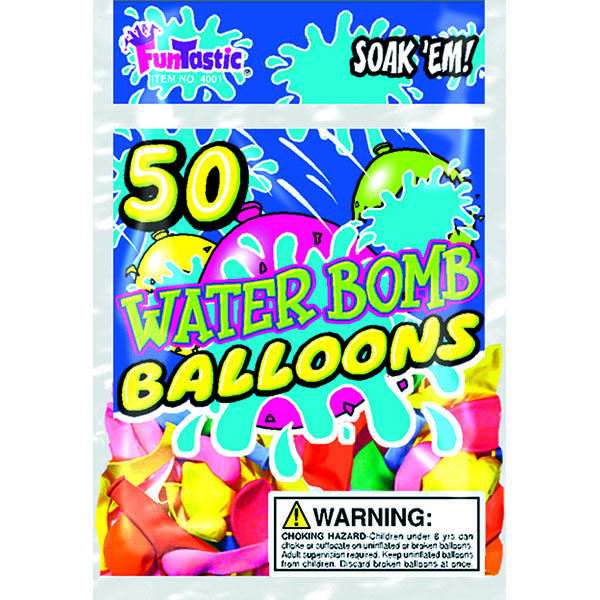 WATER BOMB BALLOONS 50'S