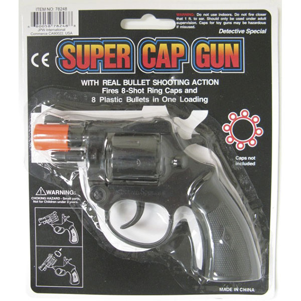 SUPER SHOT RING CAP GUN