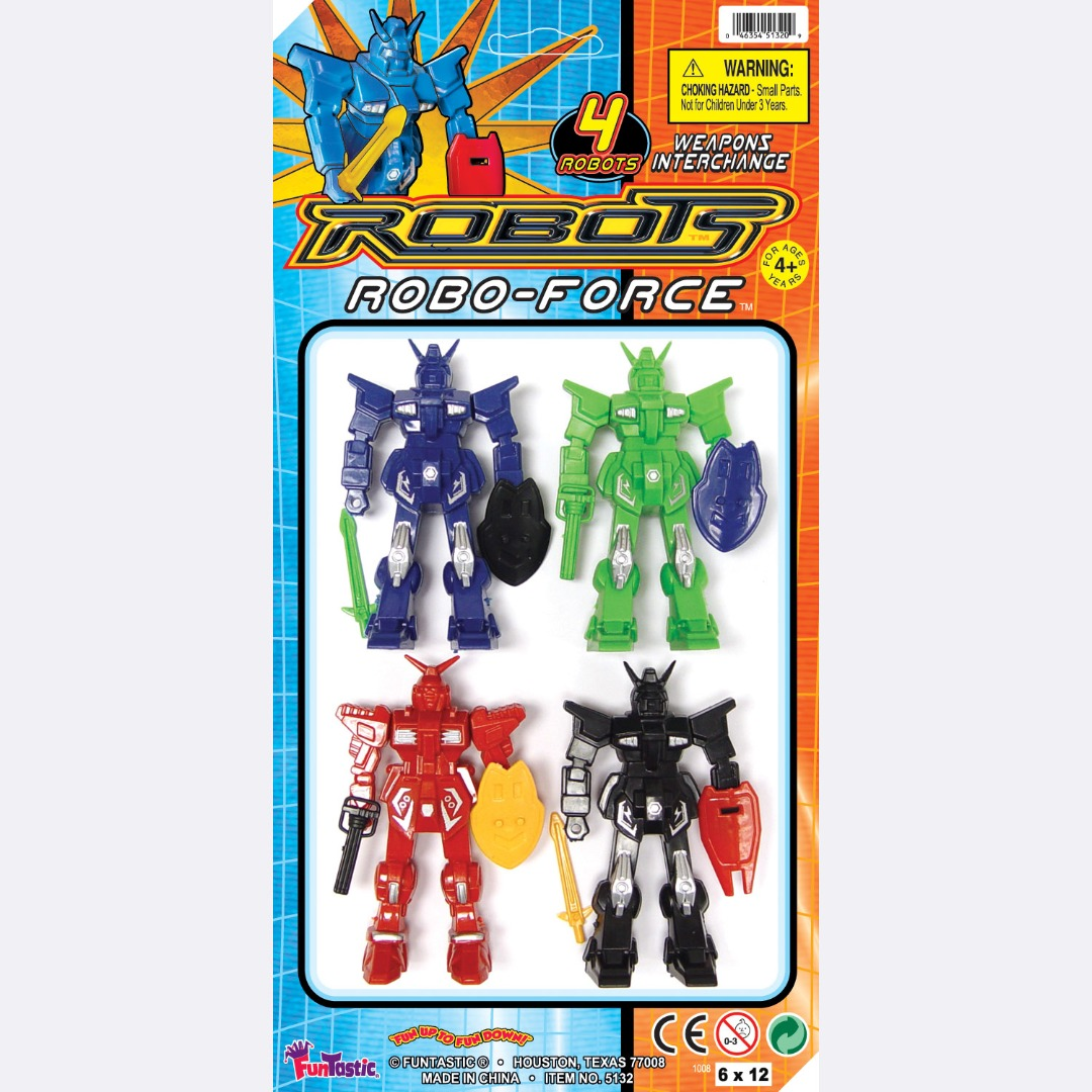 ROBOTS ROBO-FORCE 4'S