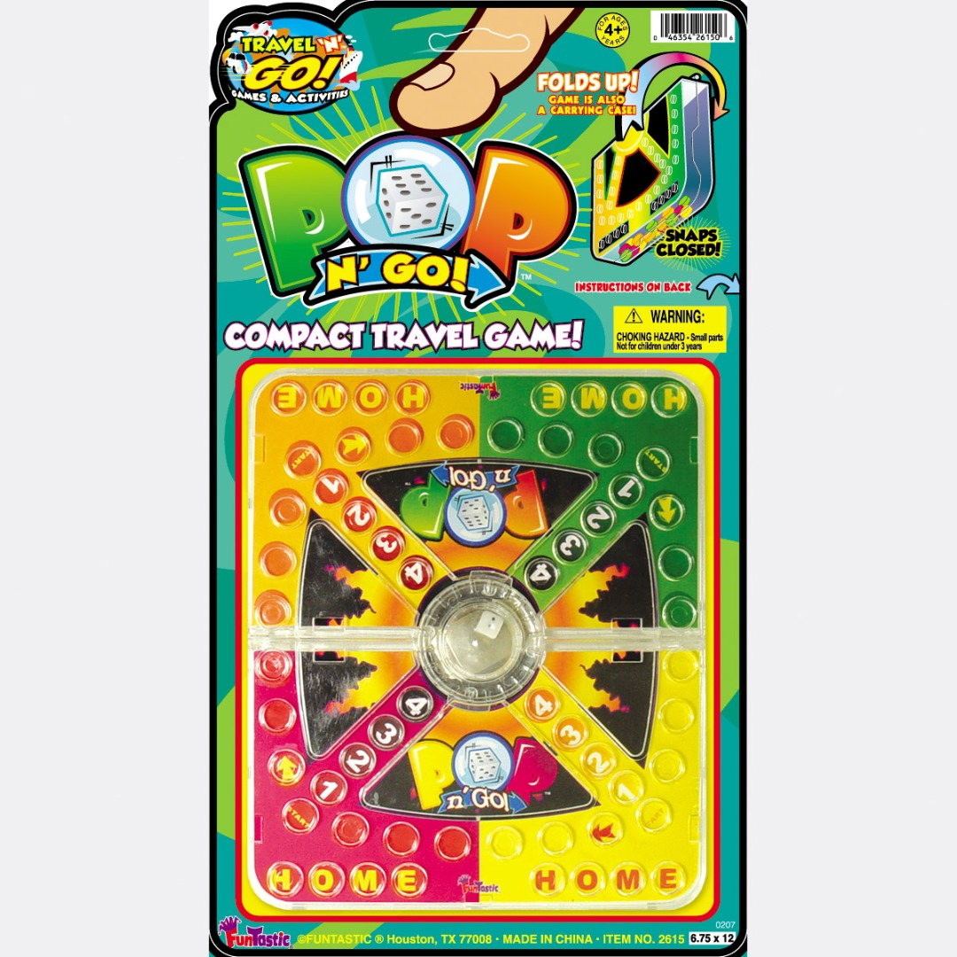 POP N' GO COMPACT TRAVEL GAME