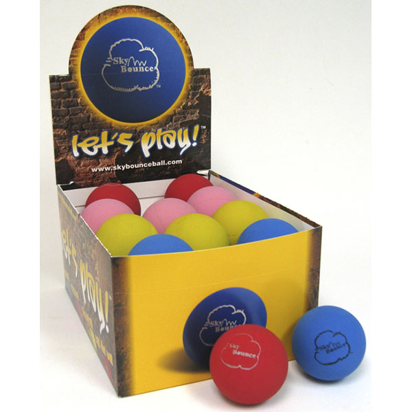 SKY BOUNCE RUBBER BALL