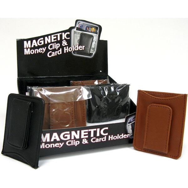 MONEY CLIP & CARD HOLDER *MAGNETIC*