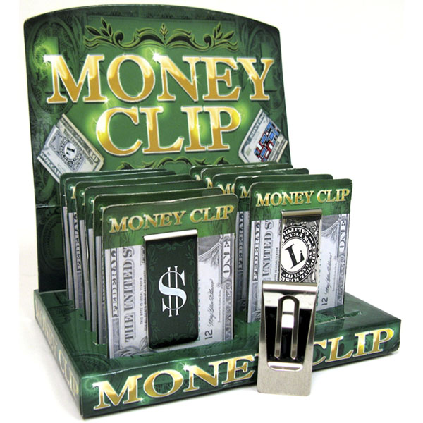 MONEY CLIP ASST. PRINT