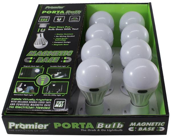 PROMIER PORTA BULB 200LM LED LIGHT