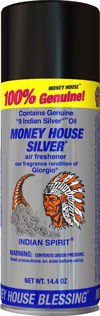MONEY HOUSE BLESSING INCENSE SPRAY 14.4OZ *SILVER*