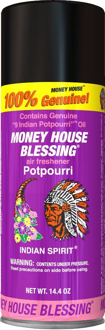 MONEY HOUSE BLESSING INCENSE SPRAY 14.4OZ *POTPOURRI*