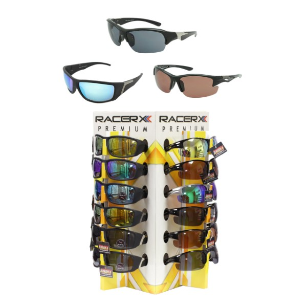 SUNGLASSES 36CT DS. *RACER-XX*
