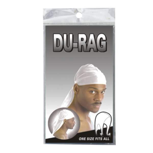 DURAG SPORT TIE DOWN CAP *WHITE*