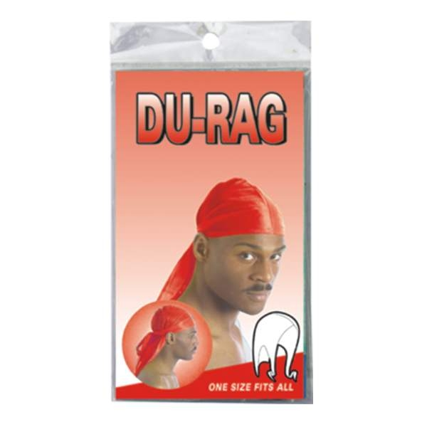 DURAG SPORT TIE DOWN CAP *RED*