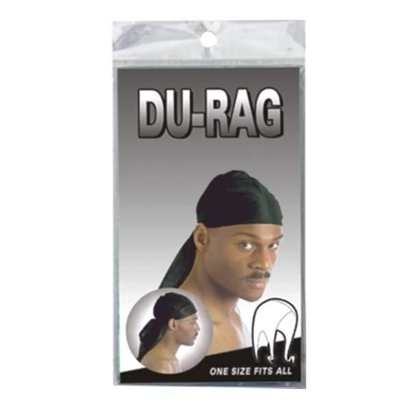 DURAG SPORT TIE DOWN CAP *BLACK*
