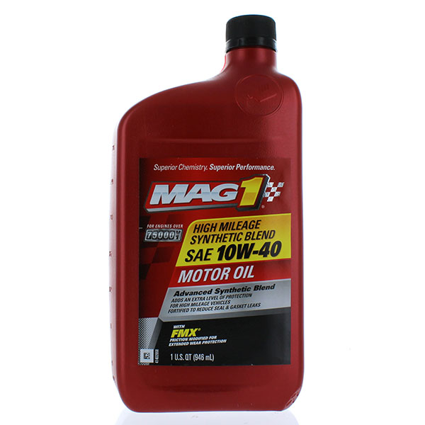 MAG 1 HI.MI.SYN. BLEND MOTOR OIL 1QT *10W40*