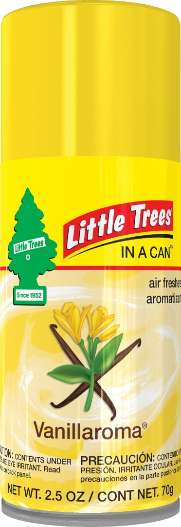 LITTLE TREE C.F. SPRAY 2.5OZ *VANILLAROMA*