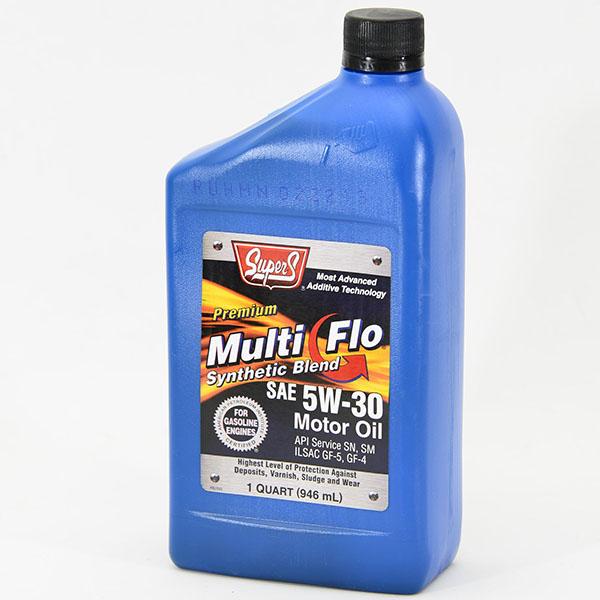 SUPER S MULTIFLO MOTOR OIL 1QT *5W30*