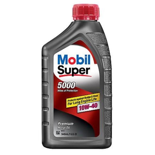 MOBIL SUPER MOTOR OIL 1QT *10W40