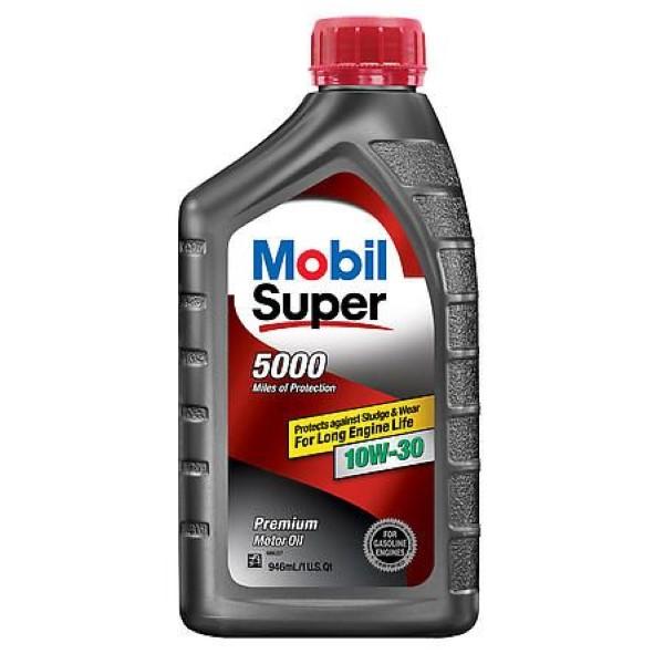 MOBIL SUPER MOTOR OIL 1QT *10W30