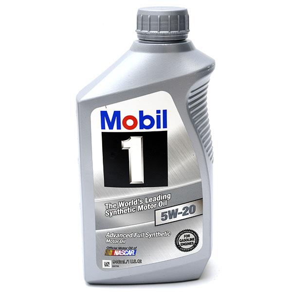 MOBIL 1 SYNTHETIC MOTOR OIL 1QT *5W20*