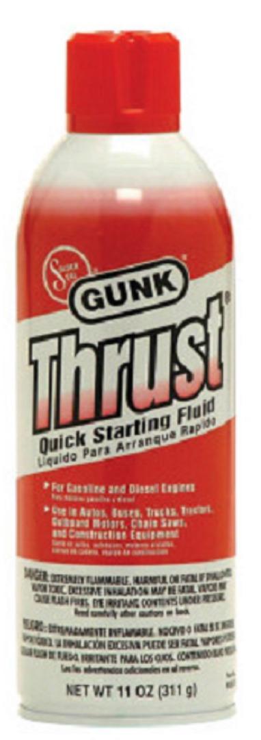 GUNK QUICK STARTING FLUID 11OZ *THRUST*