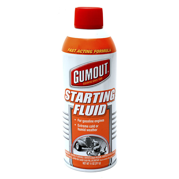 GUMOUT STARTING FLUID 11 OZ