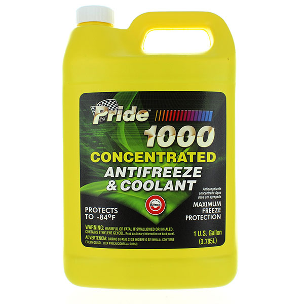 PRIDE ANTIFREEZE CONCENTRATED 1GAL GREEN *1000*