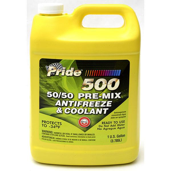 PRIDE ANTIFREEZE 50/50 1GAL GREEN *500*
