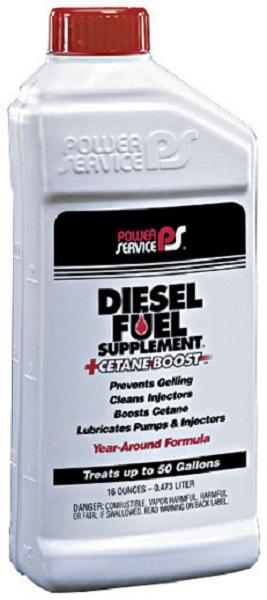 POWER SERVICE DIESEL SUPPLEMENT 16FL.OZ