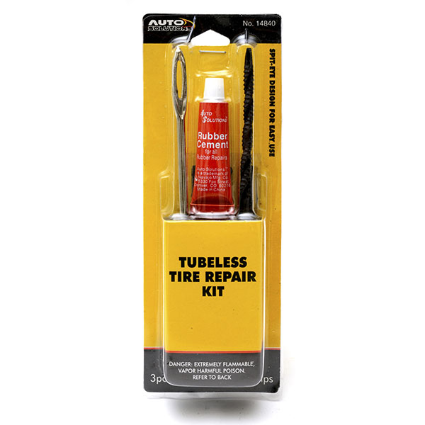 AUTO SOLUTIONS TUBELESS TIRE REPAIR KIT