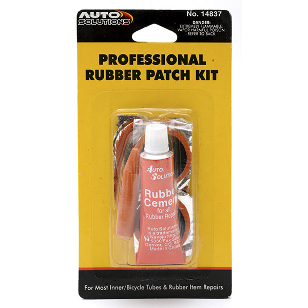 AUTO SOLUTIONS INFLATABLE RUBBER REPAIR KIT