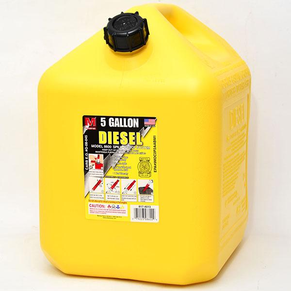 MIDWEST GAS CAN 5 GAL *DIESEL*