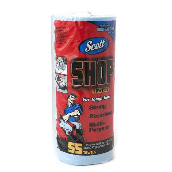 SCOTT SHOP PAPER TOWELS 55 SHT. 12CT