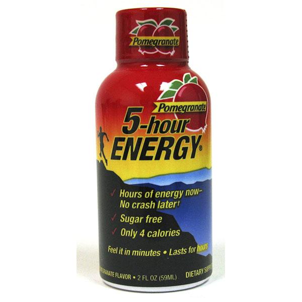 5 HOUR ENERGY 1.93FL.OZ REG.*POMEGRANATE*