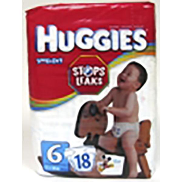 HUGGIES SNUG & DRY DIAPERS #6 23'S