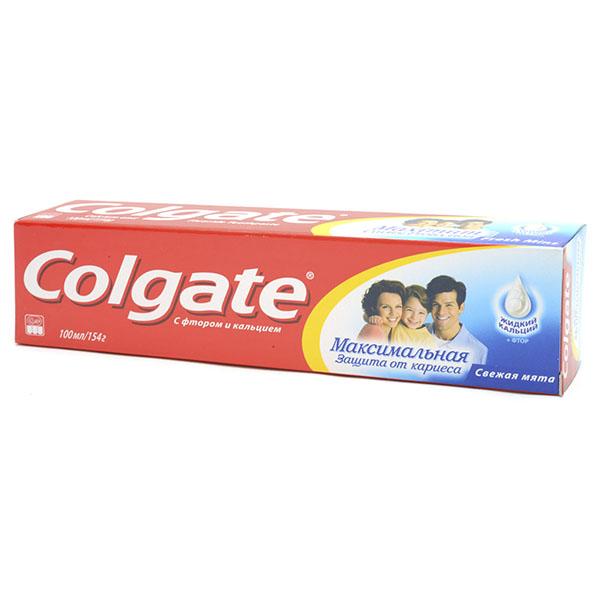 COLGATE TOOTHPASTE CAVITY PROTECTION 8OZ 5PK