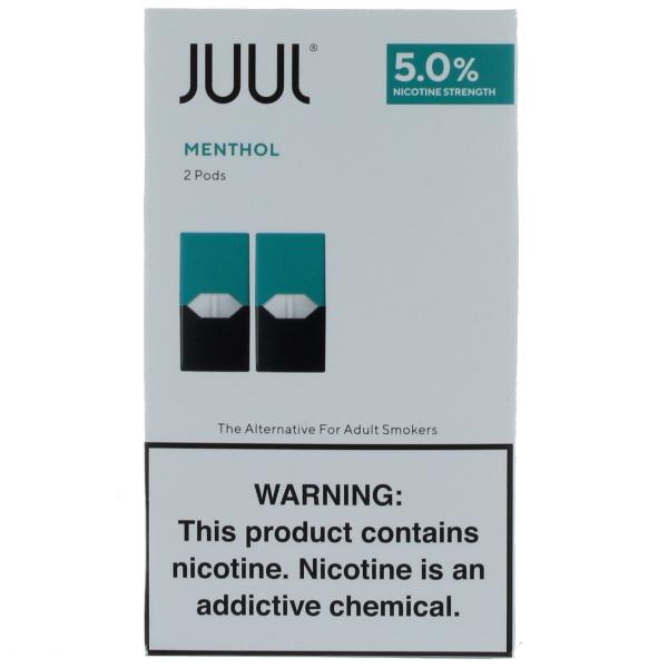 JUUL PODS 2'S 5% 11.2ML/BX *MENTHOL*