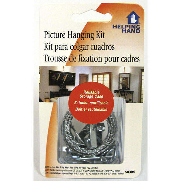 HELPING HAND PICTURE HANGING KIT #50304